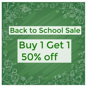 Other - Buy (ANY) 1 Get 1 (Kids) 50% Off